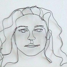 WireWorks: wire portraits