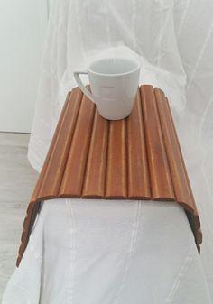 Sofa tray, Wooden tray, Flexible chair tray, Wooden TV tray, Wooden coffee table, Sofa tray table, Lap trays bed, Breakfast tray, TV tray de tossart en Etsy
