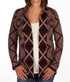 Gimmicks by BKE Southwestern Print Sweater - Women's Cardigans   Buckle