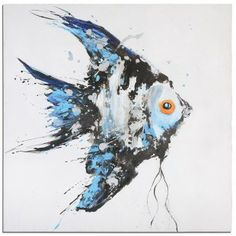 Angel Fish Wall Art