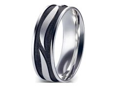 Check out this amazing Furrer Jacot Men's Band in two-tone, available in your choice of metals!!