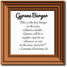 """Testimonial from a #GyreneHappyCostumer ... """"This is the best burger in the are, without a doubt. We stopped by and met Rob and the staff and had our first Gyrene burger this past week. Gyrene will be a regular stop for us whenever we are in the area. Loved it!"""" - Carmine Graziano Jr. ************************************************* Order Online Now ➡️  www.GyreneBurger.com  #burger #knoxville #burgers #fortsanders #tennessee #cumberland#Gyrene #LocalKnoxvilleEvent #USDiveTeam…"""