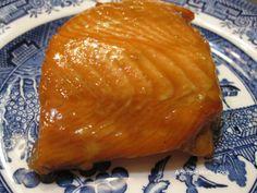Finished Maple Baked Salmon