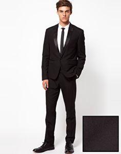 Enlarge ASOS Tuxedo Suit in Slim Fit Slim Fit Tuxedo 58abc2bc96