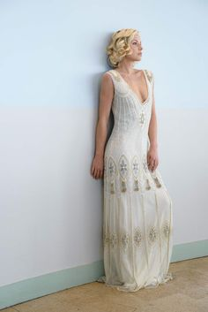 Vicky Rowe dresses: A Debut Collection of 1920s and 1930s Inspired Heirloom Style Wedding Dresses | Love My Dress® UK Wedding Blog