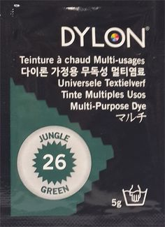 DYLON MULTI PURPOSE (26) JUNGLE GREEN 5g