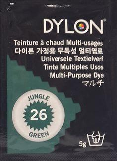 DYLON MULTI PURPOSE (26) JUNGLE GREEN 5g