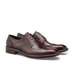 df09e1466 Sapato Social Masculino Brogan Produzido em Couro Nobre Legitimo