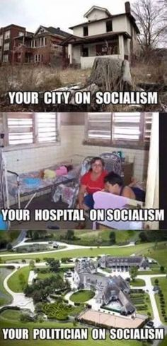 on-socialism. yup, the crap they push down our throats applies to everyone besides them