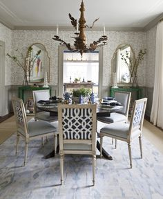 Dining Room Before After - Marika Meyer DC Design - House Beautiful