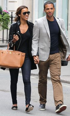 Rochelle Wiseman And Marvin Humes Out In London, 2012