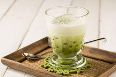 抹茶タピオカミルク
