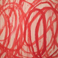 /43. Red paint loopsbrushed with astick.  _ #ihaveathingwithcolours #red#artwork #CyTwombly #art #modernart #museum#tate#london #igerslondon #igersuk #ig_london #vsco_london #visitlondon #londoncity #london_only #londonpop #shutup_london #thelondonlifeinc #ilovelondon #myunseencity#moodygrams#huntgram #passionplanner #faded_world #nothingisordinary #exploretocreate #livelittlethings