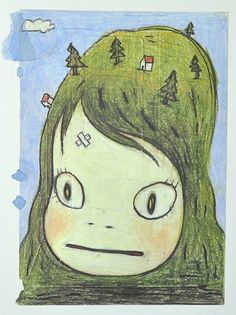 yoshitomo nara drawing - Google Search