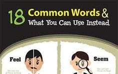 18 Common Words & What You Can Use Instead (Infographic)
