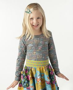 Matilda Jane Clothing  ~ Paint By Numbers ~ SCRIBBLE TEE