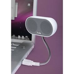 usb speaker...I need one of these for when the kids want to watch movies on the laptop