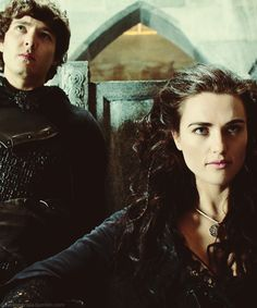 Mordred & Morgana. I loved their relationship. The way Morgana protected him like a mother or a big sister was totally relatable for me. Too bad he betrayed her. :(