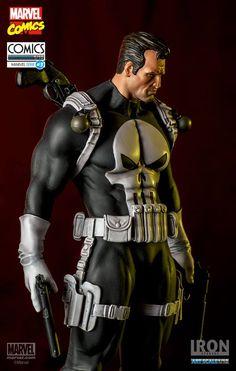 Estátua Punisher - Marvel Comics serie 3 Art Scale 1/10 - 21 cm - Iron Studios