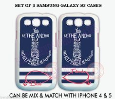 Personalized Navy Stripe Anchor BFF Best Friends Cases For Samsung GALAXY S3 S4 Bff Cases, Ipod Cases, Samsung Galaxy S3, Galaxy S8, Best Friends, Cool Cartoons, Phone Covers, Cute Quotes, Iphone 4
