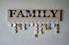 Family Birthday Sign....Great Gift Idea!