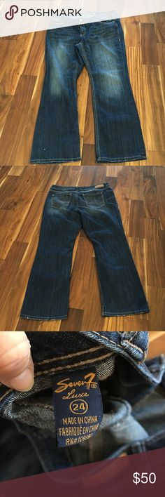 Seven 7 jeans Great condition worn once. No stains or tears or piling Seven7 Jeans