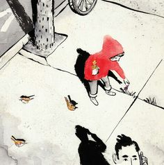 Sidewalk Flowers - Sydney Smith. Saved from 32pages.ca