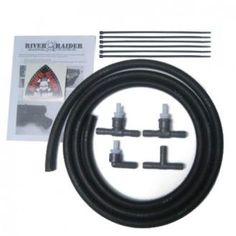 River Raider - Breather Hose Extension Kit - Fits 2007 to 2017 JK Wrangler Unlimited and Rubicon Unlimited - 4WheelParts.com