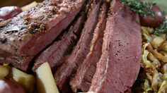 Get this all-star, easy-to-follow Corned Beef and Cabbage recipe from Melissa d'Arabian