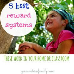 The best reward systems to help your child (or students) to WANT to be on their best behavior!