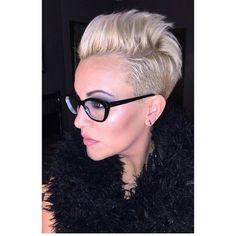 Deze 10 korte kapsels zijn zeer geschikt voor dames met een bril! - Kapsels voor haar