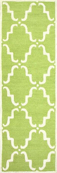 Nuloom MTVS29E-2608 Varanas Collection Green Finish Hand Tufted Divina