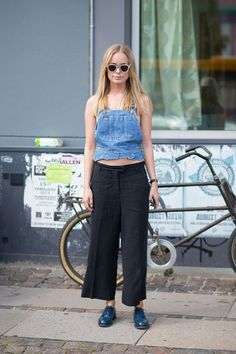 Scandinavian Standard: Copenhagen Fashion Week Spring 2015 Street Style  - HarpersBAZAAR.com