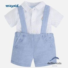 Conjunto de bebe para niño MAYORAL Newborn con camisa y pantalón
