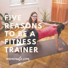 5 reasons for becoming a fitness trainer