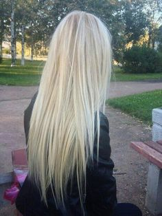 Long and blonde hair like this please
