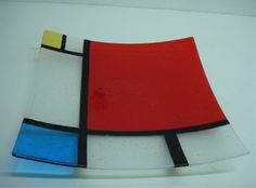 Articles similaires à Magma Art Dishes, Mondrian sur Etsy Slumped Glass, Fused Glass Ornaments, Fused Glass Plates, Fused Glass Art, Glass Dishes, Mosaic Glass, Glass Bowls, Glass Fusion Ideas, Glass Fusing Projects