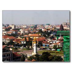 Postcard Phnom Pehn - Cambodia Cartes Postales
