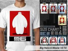 Kaos Film Big Hero 6 Movie Terbaru, Kaos Japan Big Hero 6 Movie, Kaos Big Hero 6 Movie Baymax, Kaos Big Hero Hiro Hamada