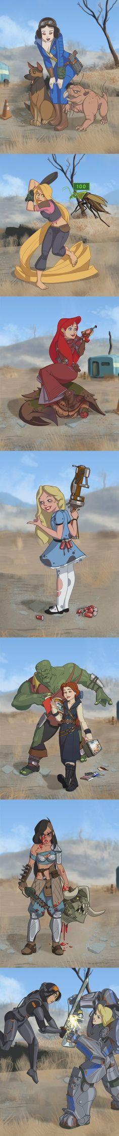 Fallout & Disney collide #fallout #kurttasche