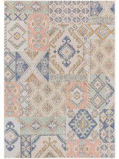 Covor Luna Multicolor - 120x170 cm Vintage, Quilts, Blanket, Rugs, Modern, Design, Home Decor, Products, Silver