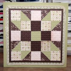 Quilt Card by akbride - Cards and Paper Crafts at Splitcoaststampers