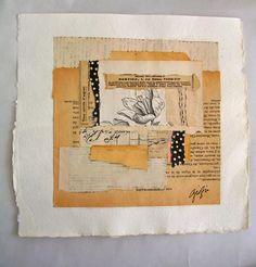 Jardin collage, caterina giglio, La Dolce Vita