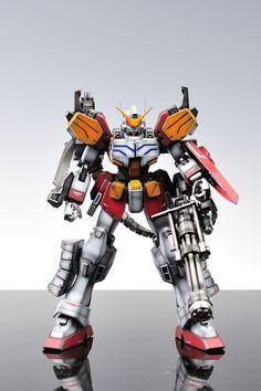 GUNDAM GUY: MG 1/100 Gundam Heavy Arms - Painted Build