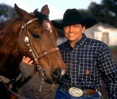dream man, concert, king george, real cowboys, george strait, texa, georg strait, paint horses, countri music