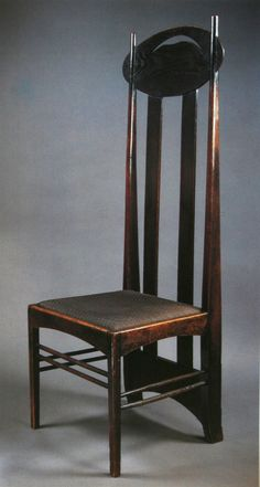Charles Rennie Mackintosh - Side Chair