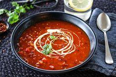 SPICY LINSESUPPE MED CHORIZO OG PAPRIKA | TRINES MATBLOGG Frisk, Chorizo, Chili, Nom Nom, Salsa, Spicy, Bacon, Recipies, Veggies