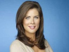 Magnificent Erin Burnett Casual Hair Tucked Behind The Ear Hairstyles Hairstyles For Men Maxibearus