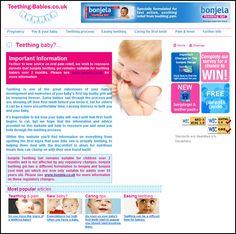 Babies teething problems...