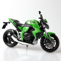 1/12 Scale Motorcycle Model Racer Scale Kit Collectible For Honda CB1000R Green